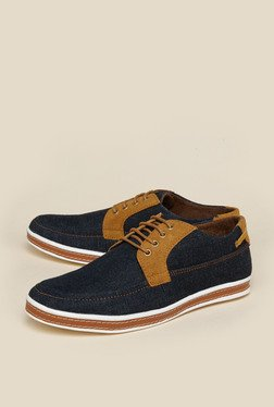 Zudio Navy Derby Shoes