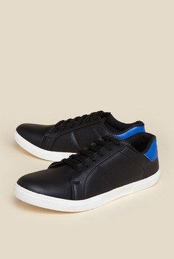 Zudio Black Lace Up Shoes