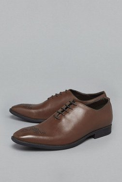 David Jones by Westside Brown Oxford Shoes