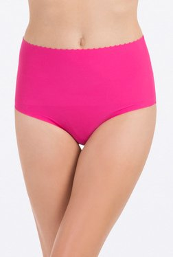 PrettySecrets Pink Solid Shaping Brief