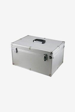 SRA Cases EN-AC-FG-C408 Aluminium Hard Case (Silver)