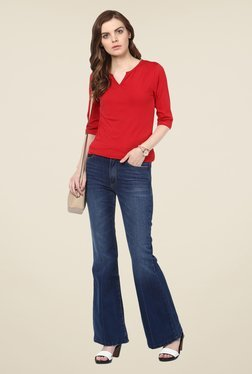 Harpa Red Solid Top