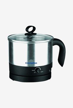 Crompton CG-KM121 1.2 L Electric Kettle(Metallic Silver)
