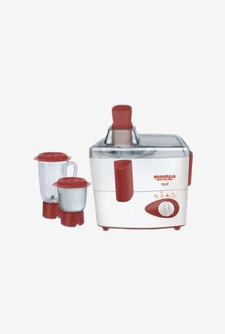 Maharaja Whiteline Real Happiness 450W Mixer Grinder (White)