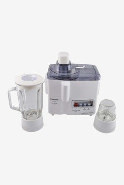 Panasonic MJ-M176P 230 W Juicer Mixer Grinder (White)