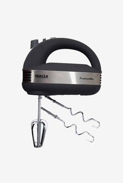 Inalsa Premium Mix 300-Watt Hand Mixer (Grey)