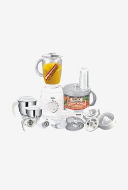 Inalsa Maxie Plus 650 W Food Processor (White)