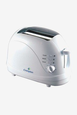 Crompton Greaves ACGT-PT23-I Pop-Up Grill Toaster (White)