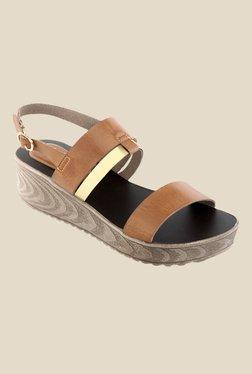 4032653f9794 Kielz Tan Back Strap Sandals