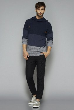 ETA By Westside Navy Slim Fit Sweater