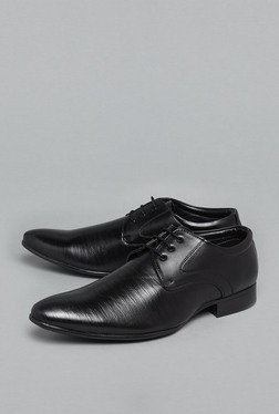 Azzurro By Westside Black Oxford Shoes
