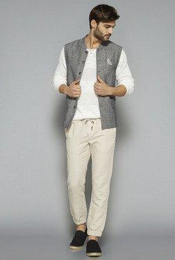 ETA By Westside Grey Slim Fit Nehru Jacket