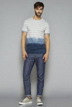 ETA By Westside White Slim Fit T Shirt
