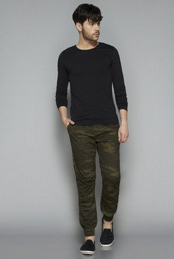 Nuon by Westside Olive Slim Fit Joggers