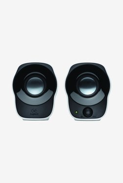 Logitech Z120 2.0 Mini Stereo Speakers (Black/White)