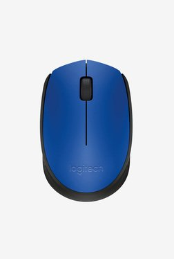 Logitech M171 Wireless Mouse (Blue)