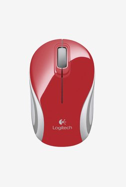 Logitech M187 Wireless Mouse (Red)