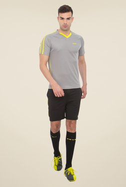Zeven Black Football Shorts