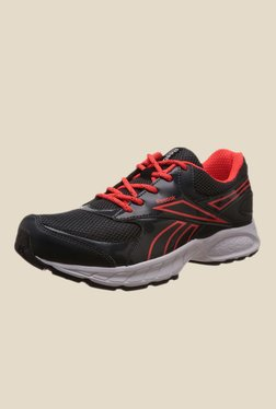 Reebok Limo Black   Red Running Shoes db42a6e0b