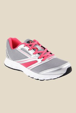 Reebok Explore Grey & Pink Running Shoes