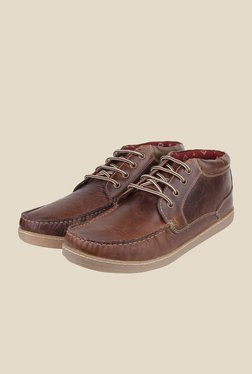 Red Tape Brown Casual Boots