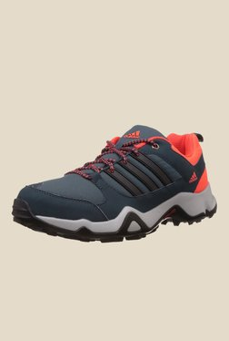 Adidas Storm Raiser 1.0 Navy & Orange Training Shoes