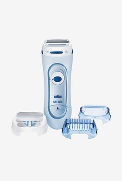 Braun Silk-epil 5160 Wet & Dry Electric Lady Shaver (Blue)
