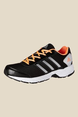 5d9e3b225e4f Adidas Black   Orange Running Shoes