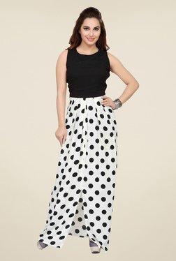 Ishin Black & White Polka Dots Dress