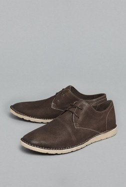 David Jones by Westside Brown Derby Shoes