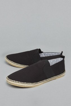 ETA By Westside Black Espadrille Shoes