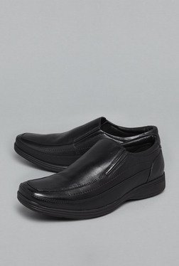 David Jones by Westside Black Slip-On Shoes