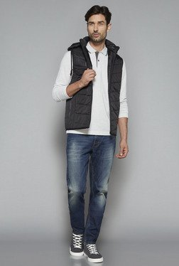 Westsport By Westside Black Slim Fit Puffer Jacket