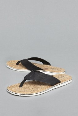 ETA By Westside Black Thong Sandals