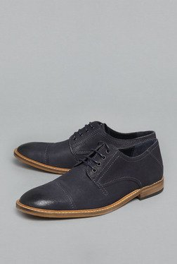 David Jones by Westside Navy Derby Shoes