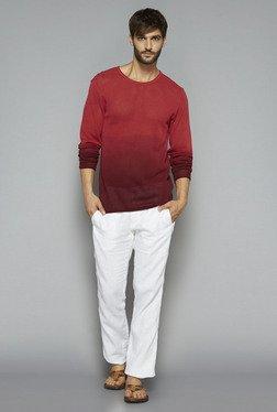 ETA By Westside Red Slim Fit Sweater