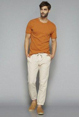 ETA By Westside Orange Slim Fit T Shirt