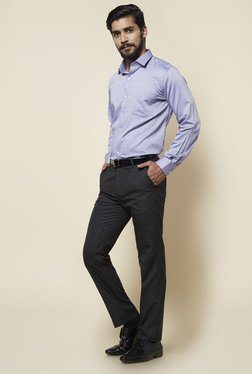 Zudio Black Slim Fit Trouser