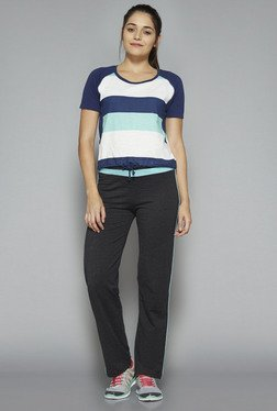 Westsport by Westside Navy Striped Zoe T Shirt