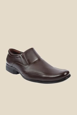 Series Brown Formal Slip-Ons