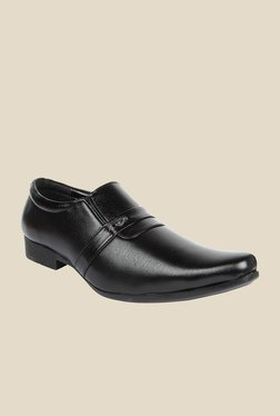 Series Black Formal Slip-Ons