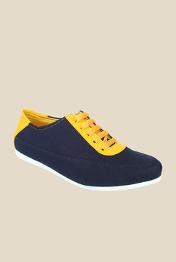 Series Navy & Yellow Casual Shoes