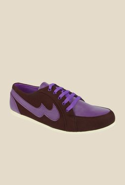 Series Brown & Purple Casual Shoes