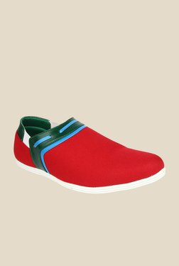 Series Red & Green Plimsolls
