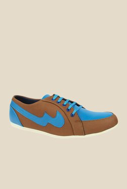 Series Brown & Blue Casual Shoes