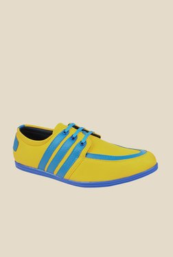 Series Yellow & Blue Casual Shoes