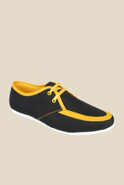 Series Black & Yellow Casual Shoes