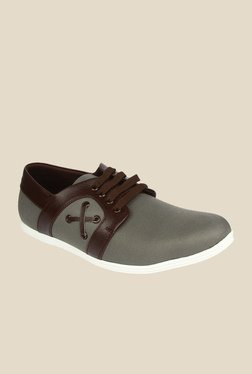 Series Grey & Brown Casual Shoes