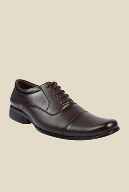 Series Brown Oxford Shoes