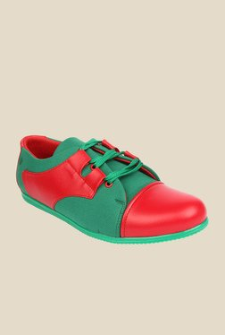 Series Red & Green Casual Shoes